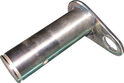 A143994 Rear Pivot Pin W Snap Ring Groove For Case 1170 1270 1370 Tractors