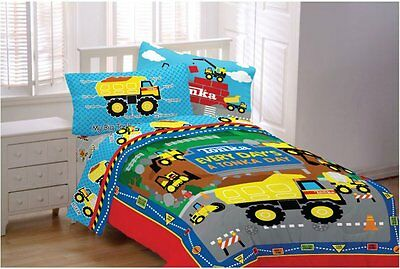 Tonka 3pc Twin Sheet Set