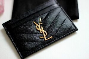 Brand new Ysl card holder - authentic