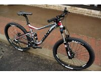 Mens 2015 650b Giant Trance Trail mountain bike