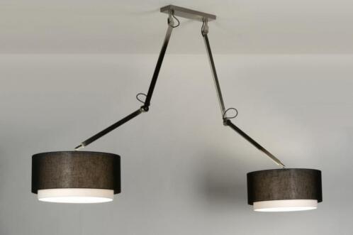 Stoere Energiezuinige Lampen : ≥ rietveld licht stoere stalen pendellamp lampen