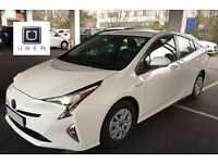 PCO NEW SHAPE TOYOTA PRIUS - 66 PLATE - RENTAL HIRE   ** UBER READY**