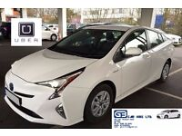 £120 Per week Toyota Prius, PCO CARS FOR RENT, from £120 PW TOYOTA PRIUS