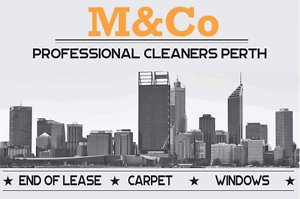 M&Co Cleaning Perth Carpet End of Lease Window office Commercial Como South Perth Area Preview