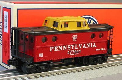 Lionel Prr Pennsylvania Illuminated Porthole Caboose 6-30171 Train 6-36680