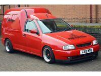 VW Caddy Van Modified
