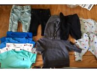 bundle of baby boys clothing age 0/3 months