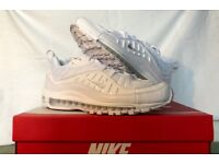 Air Max 98 White Size 10.5uk