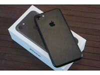 = With Receipt > As New Condition Apple iPhone 7 256GB Black Apple Warranty Feb 2018