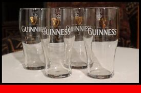 Pint Glasses - Guinness Branded
