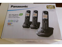 Panasonic Dect Digital phone trio