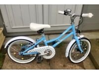 Pendleton Ashbury Girls bike 16 inch wheels for age 4-6 cost £140