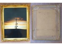 Gold frame with picture (3) Blackford Hill Mast