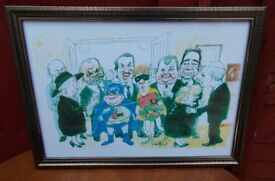 9 DIFFERENTONLY FOOLS AND HORSES FRAMED PICTURES