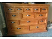 13 draw chest of drawers