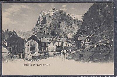 SWITZERLAND  GRINDELWALD, strasse. unused U.P.Union