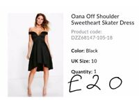 Womens dress all brand new from boohoo