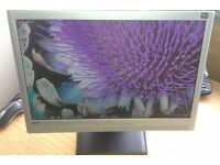 "20"" widescreen LCD monitor Speakers for PC / Dual Screen Laptop / CCTV SECURITY CAMERA - DELIVERY"