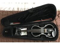 Stagg Shaped Electric 4/4 Violin - Black