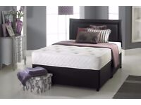 🔵💖🔴BRAND NEW 🔵💖🔴DIVAN SINGLE-DOUBLE-SMALL DOUBLE & KING SIZE BED BASE w MATTRESSES🔋