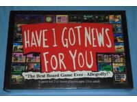 'Have I Got News For You' Board Game (new)