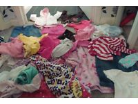 Large bundle girls 12 to 18 months clothes