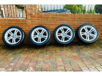 "BMW 369m 19"" M Sport Alloy Wheels with Dunlop Runflat Tires"