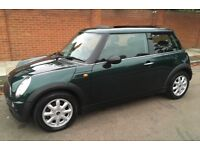AUTOMATIC MINI ONE LOW MILEAGE PANORAMIC SUNROOF ONE FORMER OWNER SERVICE HISTORY AUTO MINI ONE
