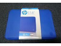 """HP laptop / netbook sleeve 11.6"""" in blue"""
