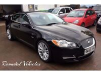 STUNNING 60 plate Jaguar XF 3.0 Premium Luxury saloon, FSH, Long MOT, two keys BEAUTIFUL BIG CAR !!