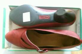 New Clark's wide fit shoes
