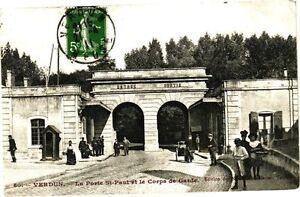 Cpa verdun la porte st paul et le corps de garde 178238 for Porte et fenetre verdun st isidore