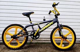 Stunt Bike Big Daddy Rooster Skyway, yellow & black, excellent condition.
