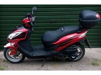Lexmoto FMS125 Scooter