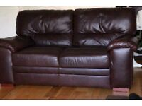 Leather Sofa Set/ Individual ( 3Seater + 2 Seater)