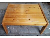 Small Pine Coffee Table - Charity
