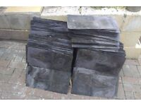 Full purple slate tiles for sale. Cheaper way to make slate chippings