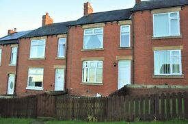 **Spacious Three Bedroom Terraced House In Mickley, Stocksfield, Only £550 PCM