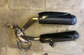 Standard Cans with downpipes. 2006 - 2007
