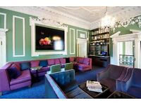 Part time Receptionist required- Members' club in Soho