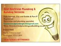Electrical and plumbing business for sale bridlington