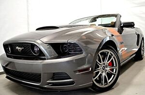 2014 FORD MUSTANG GT PREMIUM CONVERTIBLE GPS CUIR BLUETOOTH