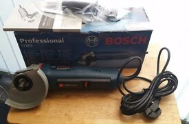 """bosch gws 11-125 P Professional 5"""" angle grinder as new never! been used"""
