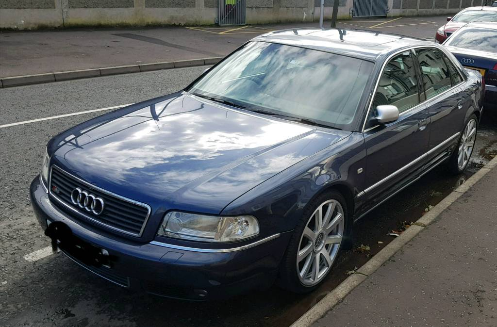 Audi a8 2.8 sport Quattro with paddles