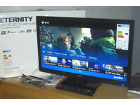 "Eternity 24"" 720p HD LED TV Freeview HD & DVD Player"