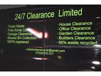 24/7 clearance limited