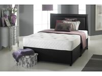 🌷💚🌷 CALL NOW & BOOK FOR SAME DAY 🌷💚🌷 DOUBLE , SINGLE DIVAN BED BASE WITH MATTRESSES OPTIONAL