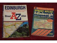 Two Edinburgh Street Atlases A-Z