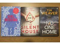 Three Mystery Books