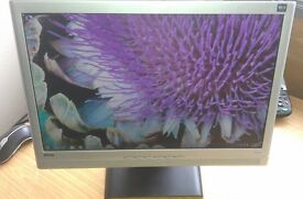 """20"""" widescreen LCD monitor Speakers for PC / Dual Screen / Laptop / CCTV SECURITY CAMERA - DELIVERY"""